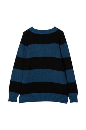 black and blue teen striped sweater MOLO   7   1W21K2028387T