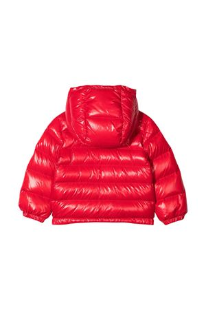unisex red down jacket  Moncler Kids | 13 | 1A5352068950455