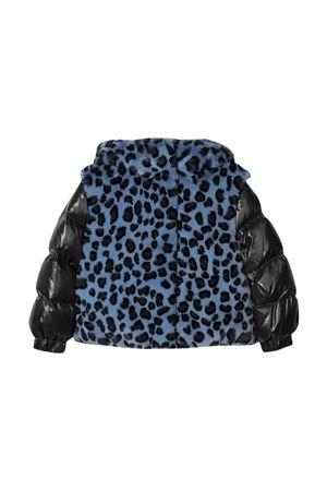 Blue girl down jacket  Moncler Kids | 13 | 1A54P10899HI799