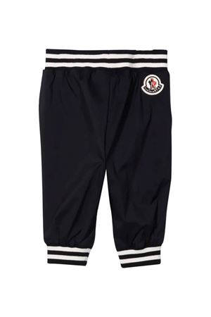 Blue and white trousers with logo Moncler Kids | 9 | 2A7042053333776