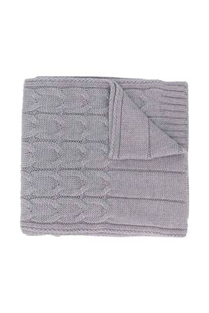 unisex gray scarf  Moncler Kids | 77 | 3C7002004S02983