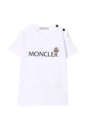 white newborn t-shirt  Moncler Kids | 8 | 8C738208790M002
