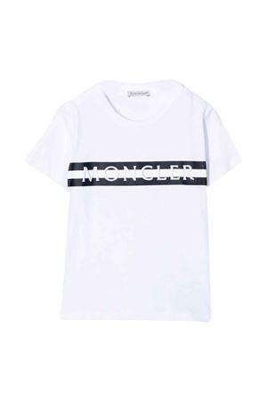 white t-shirt  Moncler Kids | 7 | 8C7662083092002