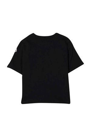 unisex black t-shirt  Moncler Kids | 8 | 8C7801083092999