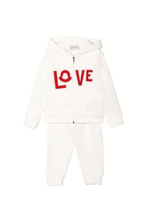 Tuta neonato bianca Moncler Kids | 42 | 8M767108999Y034