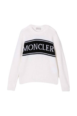 Sweater with logo Moncler Kids | 7 | 9C72620A9645034