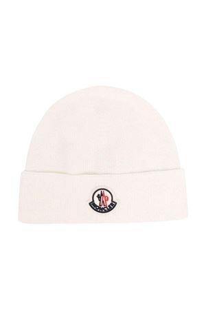 white cap  Moncler Kids | 5032340 | 9Z73100A9632034