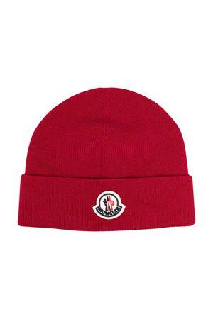 red cap  Moncler Kids | 5032340 | 9Z73100A9632455