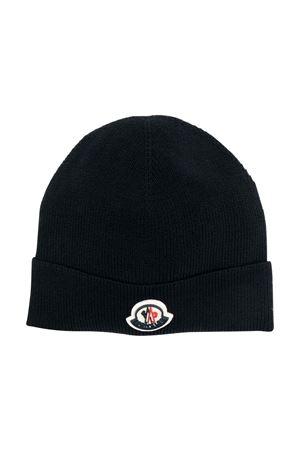 black cap  Moncler Kids | 5032340 | 9Z73100A9632999