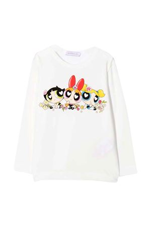 T-shirt panna bambina Monnalisa kids   8   118620SU82010001