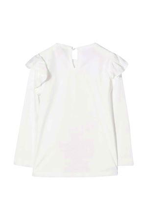 T-shirt bianca bambina Monnalisa kids   8   118624P182060001