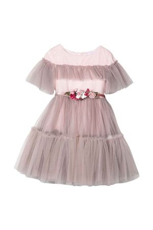 Abito rosa bambina Monnalisa kids | 11 | 11890289450009