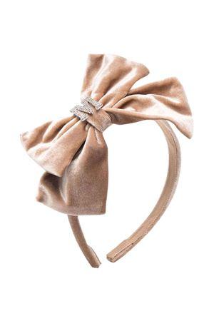 beige headband  Monnalisa kids   -611852221   17800480840003