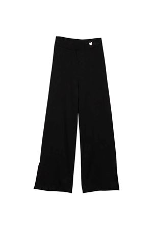 Pantaloni neri bambina Monnalisa kids | 9 | 178403A382070050