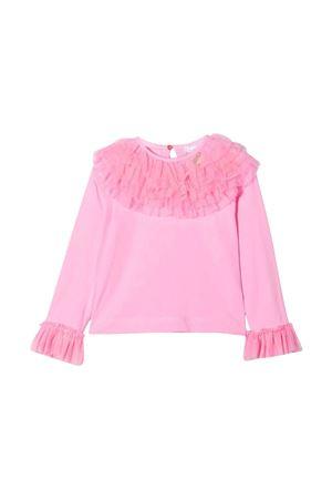 Blusa rosa bambina Monnalisa kids   8   17860482010095