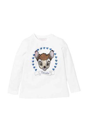white t-shirt  Monnalisa kids   8   198628P880730001