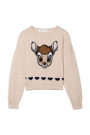 girl cream sweater  Monnalisa kids   7   19863380640003
