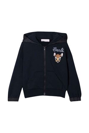 blue sweatshirt  Monnalisa kids   -108764232   198807RG8072056S