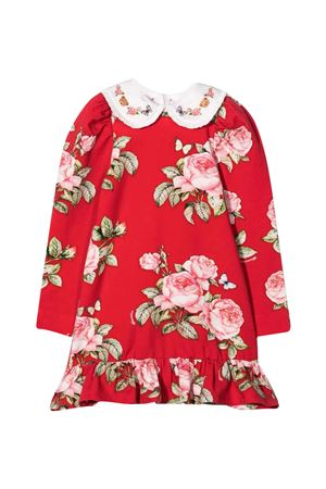 Abito rosso bambina Monnalisa kids   11   198905R780060043
