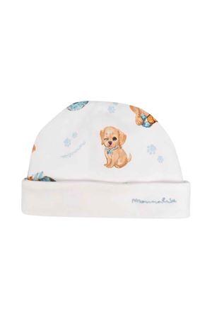 patterned newborn hat  Monnalisa kids | 75988881 | 22800080220158