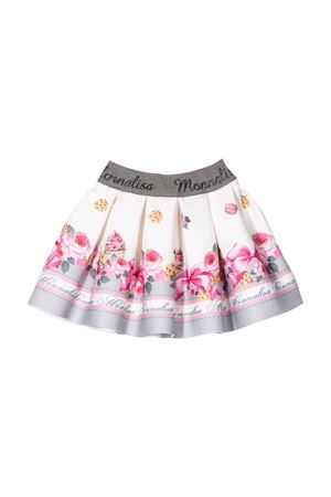 girl patterned skirt  Monnalisa kids   15   31870086520291