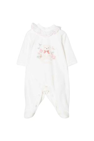 newborn white onesie  Monnalisa kids | 1491434083 | 358210PF80240001