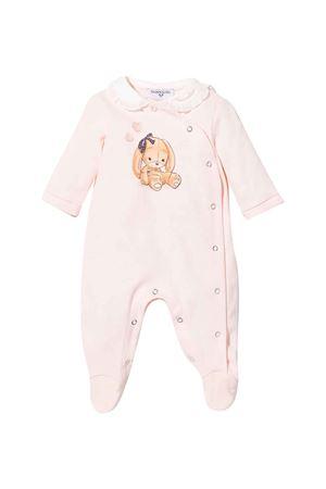 newborn pink onesie  Monnalisa kids | 1491434083 | 358214PI80200092