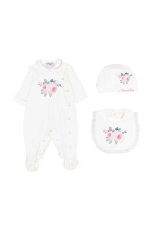 Newborn white onesie  Monnalisa kids | 75988882 | 358501S780200001