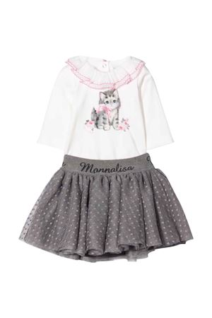 newborn skirt and body set  Monnalisa kids   42   358502S280200132