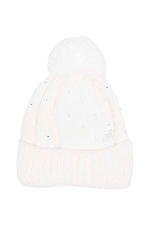 newborn cream hat  Monnalisa kids | 75988881 | 37800080890001