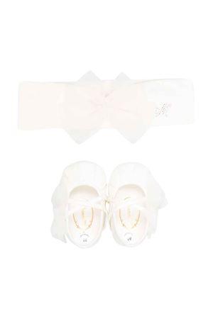Set bianco neonata Monnalisa kids | 75988882 | 37800182070001