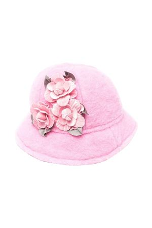 pink bucket hat  Monnalisa kids | 75988881 | 39800387410091