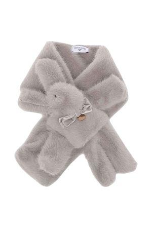 newborn gray scarf  Monnalisa kids   77   39801287630001