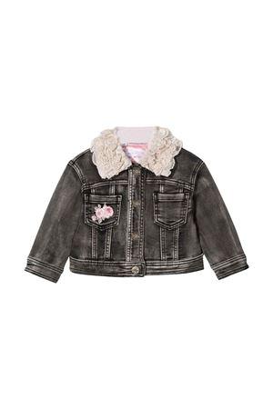 black denim jacket Monnalisa kids | 3 | 398100R480160050