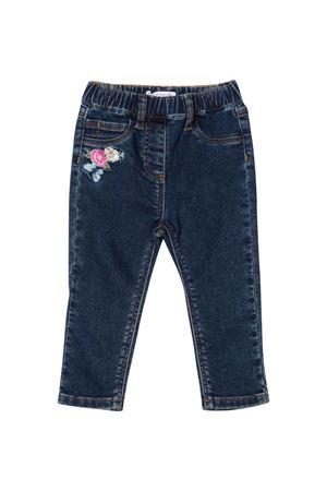 Jeans scuri neonata Monnalisa kids | 24 | 398407RE80250055