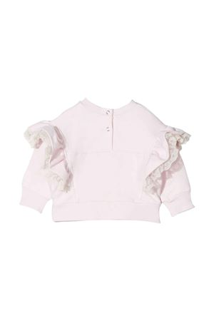 Felpa rosa neonata Monnalisa kids | -108764232 | 398600R380010091