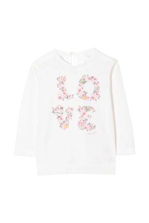 T-shirt bambina bianca Monnalisa kids   8   398601SA80020001
