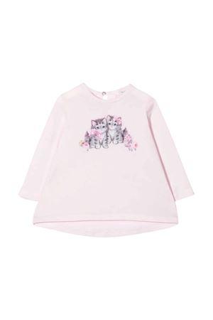 pink t-shirt Monnalisa kids | 5032307 | 398605SD80020091