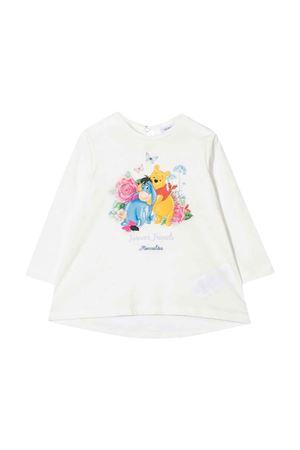 T-shirt bianca neonata Monnalisa kids   8   398613P580020001