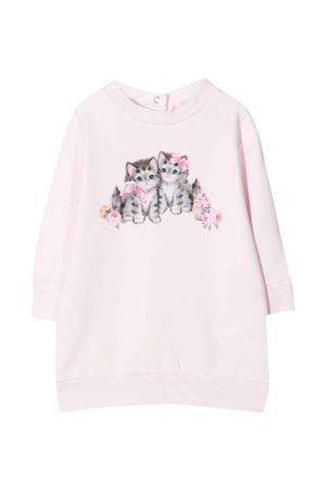 pink sweatshirt dress  Monnalisa kids | 11 | 398913R380010091