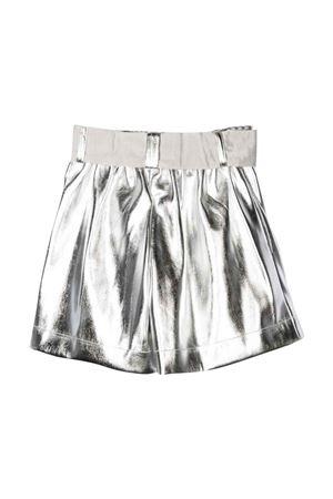 Shorts argento bambina Monnalisa kids | 30 | 79840180500075