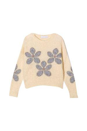 ecru teen sweater  Monnalisa kids | -1384759495 | 79860580610002T