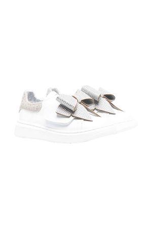Sneakers bianche bambina Monnalisa kids | 12 | 83800587090132