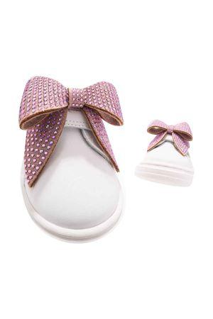 Cream / pink sneakers  Monnalisa kids | 12 | 83800587090191