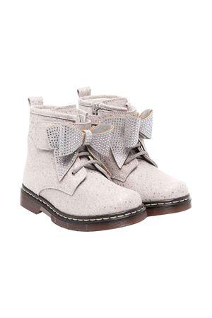 gray combat boots  Monnalisa kids | 12 | 83800787100032