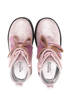 pink combat boots Monnalisa kids | 12 | 83800787100091