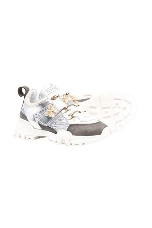 Sneakers argento bambina Monnalisa kids | 12 | 87800887190075
