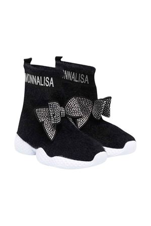 black teen socks  Monnalisa kids | 12 | 8C800287050050T