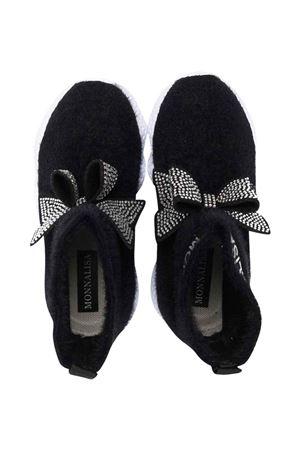 black socks shoes  Monnalisa kids | 12 | 8C800287050050