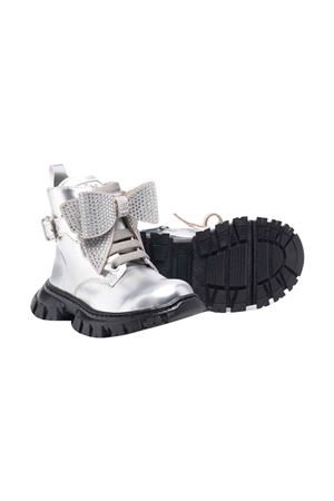 silver teen boots  Monnalisa kids | 12 | 8C800587070075T